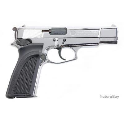 Pistolet d'alarme Umarex Browning GP DA en 8mm Pak chromé