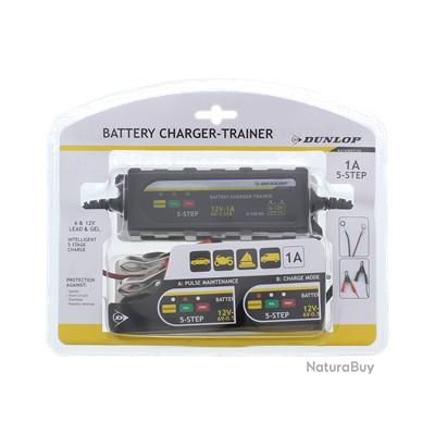 Chargeur batterie Dunlop 6 volts | 12 volts 2