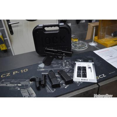 Pistolet GLOCK 19 GEN 5 FS MOS 9x19 NEUF