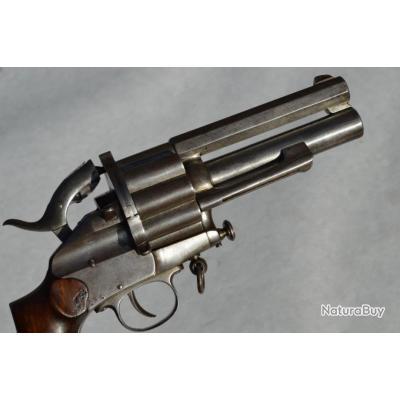 REVOLVER LEMAT modèle 1869 Calibre 11mm 73 et Calibre 20 - France Belgique XIXè France Très bon  XIX