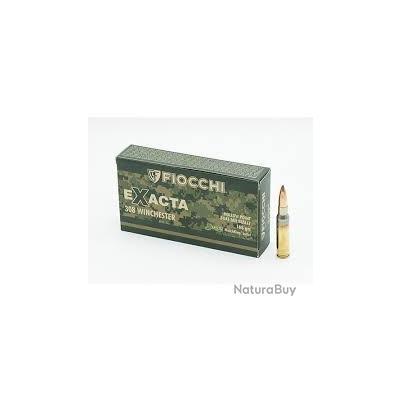 Munitions FIOCCHI Exacta Cal.308win 175grs HPBT sierra matchking par 60