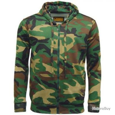 Sweat-Shirt  Camouflage Woodland GT