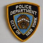 PATCH / ECUSSON police NYPD