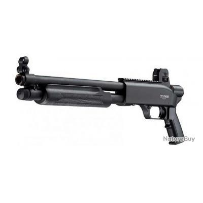 Fusil à pompe T4E SG 68 Cal.68 Gomm cogne 16 Joules + Cross Offert
