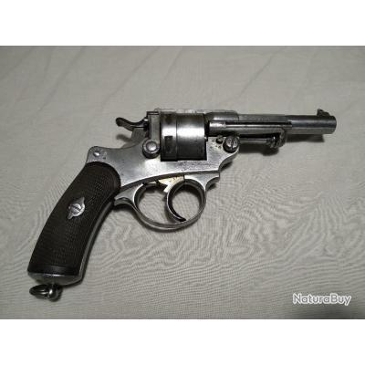 Revolver Chamelot Delvigne réglementaire d'ordonnance MAS 1873 mono matricule