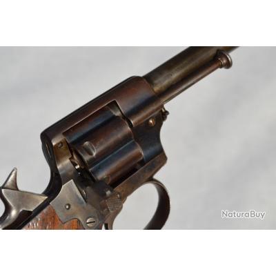 REVOLVER OFFICIER 1870 LEFAUCHEUX CIVIL Calibre 12mm - France IIè Rép France Très bon  XIX eme Civil