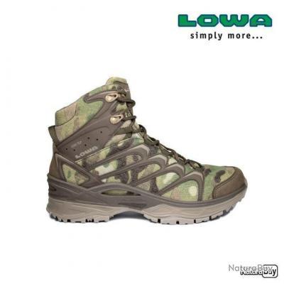 Chaussures LOWA Innox GTX Mid TF Camouflage Camo Multicam