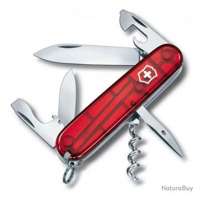 Couteau suisse Spartan, Couleur Rouge translucide [Victorinox]