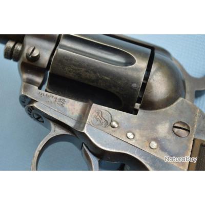 """REVOLVER Sheriff COLT 1877 LIGHTNING 2""""1/2 Calibre 38 LC - US XIXè Très bon  U.S.A. XIX eme Civil Ca"""