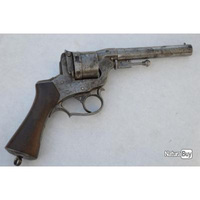 REVOLVER PERRIN 1859 Double action Calibre 12mm - France XIXè Bon  France XIX eme Civil Categorie D