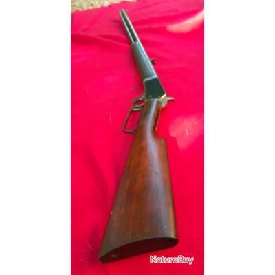 Belle Marlin modèle Safetty 1892 calibre 22 longue avec vrai viseur aiguille et hausse pliable  D2
