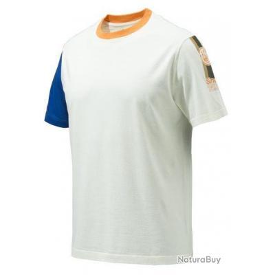 t-shirt BERETTA VICTORY BLEU / BLANC de la marque BERETTA ITALIE