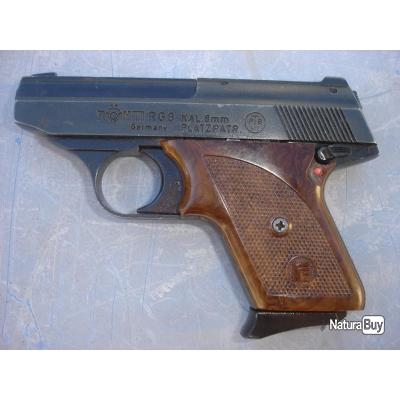 Pistolet d'alarme - Röhm RG8 - Made in Germany - cal 8mm à blanc