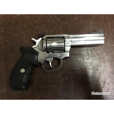"Revolver Manurhin MR88 spécial Police F1 4"" inox cal38 sp"