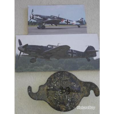 Vend bouchon de reservoir avion de chasse  MESSERSCHMITT  BF   109