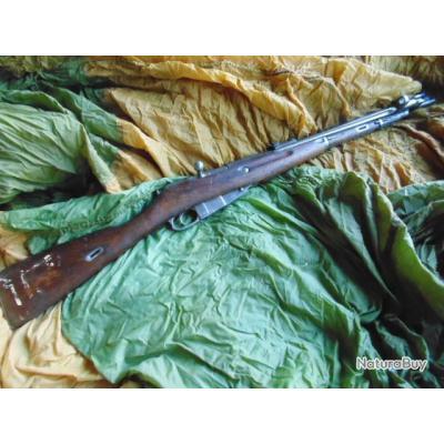 fusil mousqueton mosin nagant russe daté 1944 ww2 cavalerie blindé char neutra  pour  reconstitution