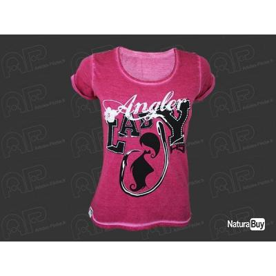 T Shirt Lady Angler