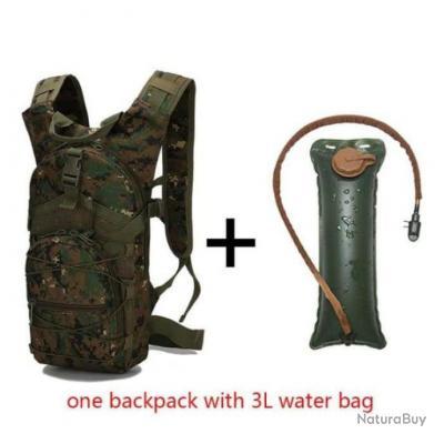 Sac à dos à eau / Camelback LoLion 3L - Camo Woodland