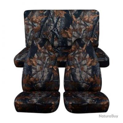 Couvres sièges camo Sidot - Classique - 4 Pièces