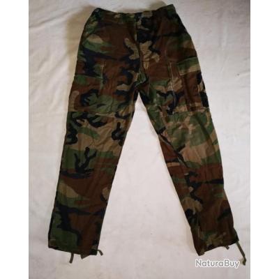 Lot n°3 de 5 pantalons de combat Camo treillis Allemand avec défauts