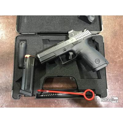 CZ P10C Optic Ready avec point rouge MEOPTA Meored 30
