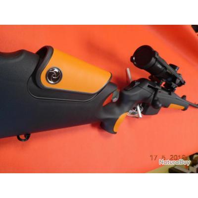 Carabine neuve 56 cm Merkel RX Speedster 30-06 NOIR et ORANGE, lunette Leica Fortis  6, 1-6X24i
