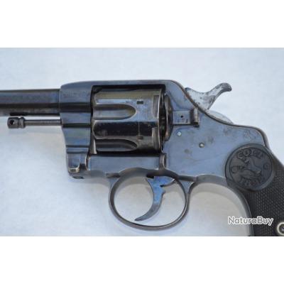 REVOLVER COLT Modèle 1892 Première fabrication de Colt 95 Patent 1888 Calibre 38 Long Colt - US XIXè