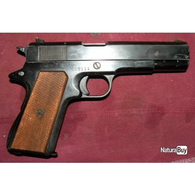 PISTOLET D'ALARME BRUNI 8MM. COPIE COLT 1911A1.