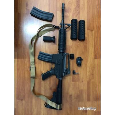 Réplique M4A1 WE GBBR avec accessoires