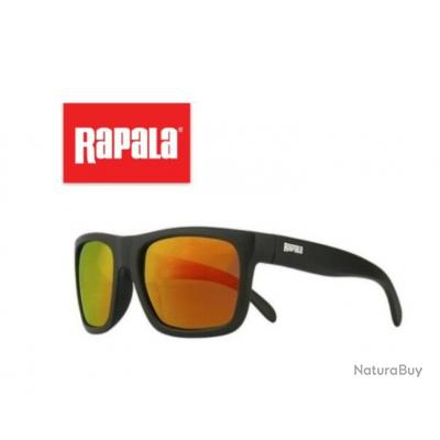 Lunettes polarisantes Rapala Visiongear Mirror polarisées protection 100% UVA ET UVB ref565