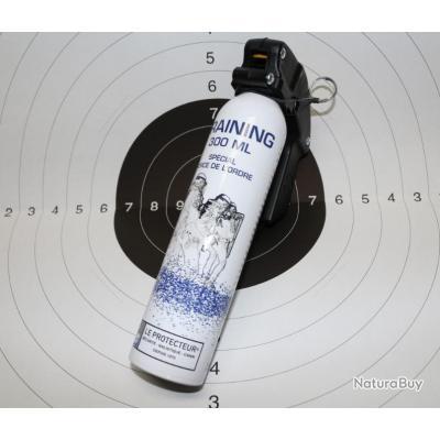 BOMBE D'ENTRAINEMENT (SANS LACRYMOGENE) 300 ML
