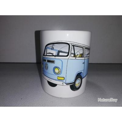 Mug Combi Split Noel Window Transporter Volkswagen Ceramique Vw T2 Tasse Coffee cRq543LAj