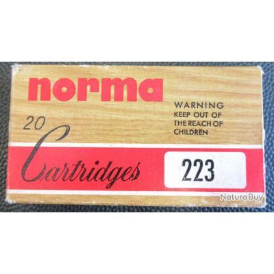 Cartouches Norma cal 223 (2)