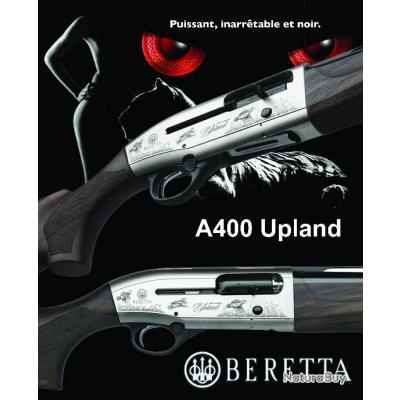 """BERETTA A 400 UPLAND """"PROMO BLACK DAY$"""" Kick-Off Plus Calibre 12/76 Canon 66cm"""