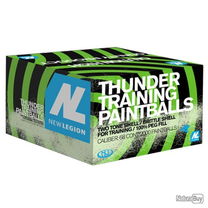 Annonce billes paintball : New Legion Thunder 2000 Billes