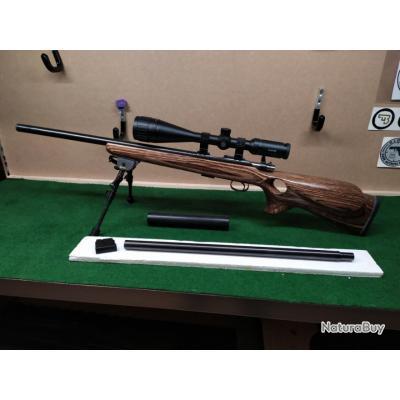 CZ 455 thumbhole 22 LR et canon 17 HMR - Carabines 22LR