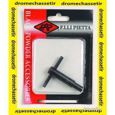 Clé de demontage pour cheminée poudre noire petit modele PIETTA