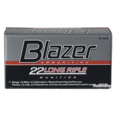 50 Munitions 22LR CCI blazer