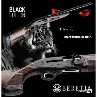 BERETTA A 400 XCEL SPORTING BLACK EDITION KICK OFF Calibre 12/76 Canon 71cm