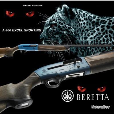 BERETTA A 400 XCEL SPORTING Calibre 12/76 Gun Pod 2 Canon 81cm