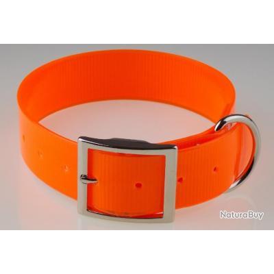 collier TPU 38 x 60 cm orange