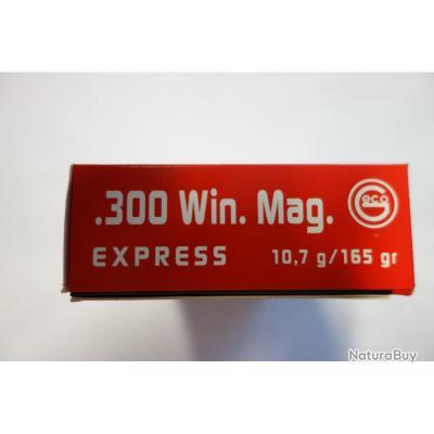 DESTOCKAGE LOT DE 20 BALLES GECO 300Wm  EXPRESS  165GR  10;7GR