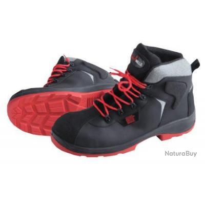Sécurité Catu 223 Noir Semelles Mv Rouge Hautes De Isolantes Chaussures Avec vmynO8wN0