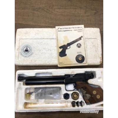 Pistolet Co2 Feinwerkbau modèle 2 pour collectionneur