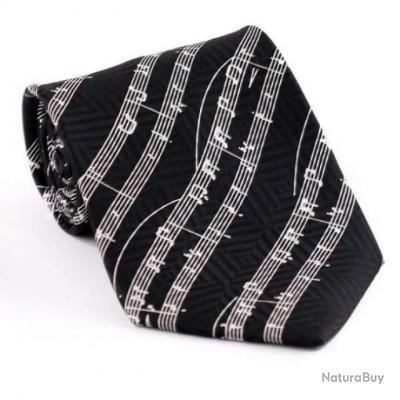 Cravate Tailor Smith - Multiples modèles - Solfège noir