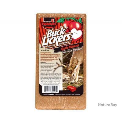 Bloc minéral Buck Lickers - 3 saveurs - Pomme