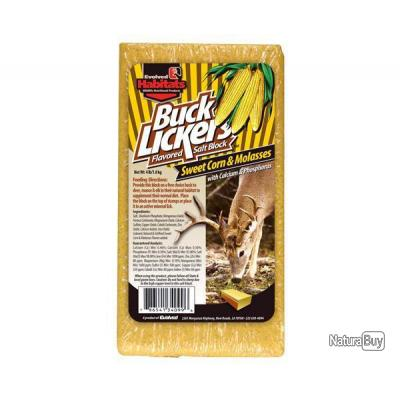 Bloc minéral Buck Lickers - 3 saveurs - Maïs Doux