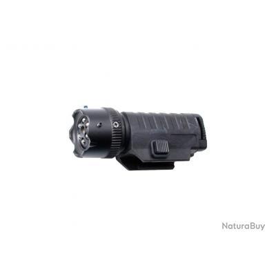 Lampe Laser Tactique avec Montage Pour UMAREX T4E HDS 68 ou UMAREX T4E HDR 50