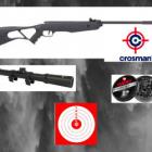 Pack Crosman Inferno Cal.4.5  + 250 Plombs GAMO + Lunette 4X20 VEOPTIK+ Cibles GARANTIE 2 ANS