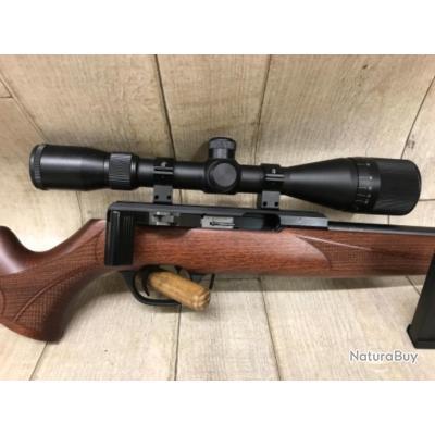 Carabine calibre 17 HMR ISSC SPA neuve dans sa boîte d'origine plus lunette CENTER POINT 3-9x40